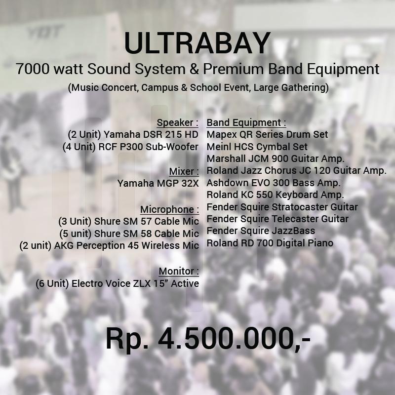 Rental Sound System dan Alat Band Murah